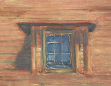 Barn Window, 2001